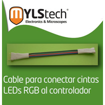Cable Para Amplificador De Cintas Led Rgb