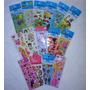 Adesivos Stickers Kit C/120 Cartelas Autocolantes Personagen