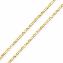 Conjunto Corrente E Pulseira 3 X 1 Masculina Em Ouro 18k-750