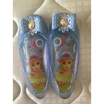 Vendo Zapatillas Barbie Para Niñas. T 30.