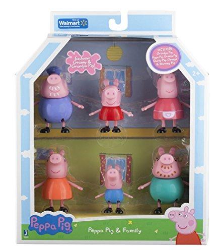Sets De Juego Juguete Peppa Pig Y Familia Figura Abuelo