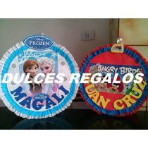 Piñata Frozen, Cars, Monters High, Hombre Araña