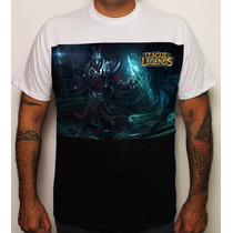 Camiseta Game League Of Legends Karthus Cor Lol 100% Algodão