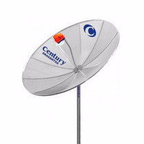 Frete Grt Antena Parabolica Digital Hd Century Banda C 190cm
