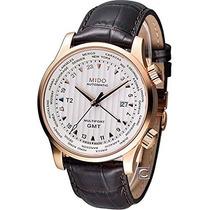 Relógio Mido Multifort Automatico Gmt M0059293603100 Novo