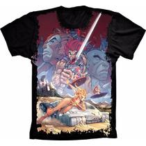 Camiseta Thundercats Estampada Frente Anime Desenho Animação