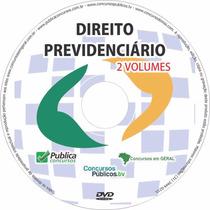 Direito Previdenciário Para Concurso Inss Videoaula 2 Dvds