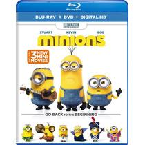Película Minions Blu-ray + Dvd + Hd Blakhelmet Sp