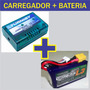 Bateria Turnigy 1300mah 3s + Carregador Lipo Turnigy 2s 3s