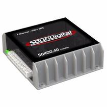 Modulo Mono Stereo Sd400.4 400w Rms Soundigital Oferta