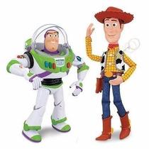Toy Story Amigos Interactivos Woody Y Buzz + 100 Frases