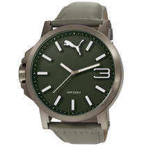 Relógio Puma, Analógico, Couro, 10 Atm - 96216gppmsc8