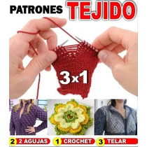 Patrones De Ropa Crochet, Tejido Dos Agujas, Telar