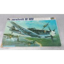 Avião Messerschmitt Bf 109f 1/32 Revell Brasil Antigo Raro.