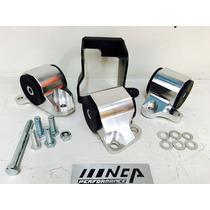 Soportes Rígidos Aluminio Uretano Honda Civic 96-00 Jdm Nca