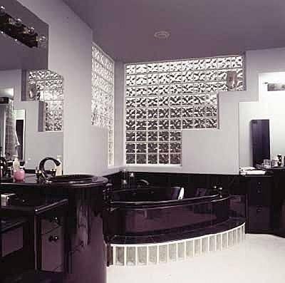 ladrillos de vidrio nube ondulado checos - Ladrillos De Vidrio