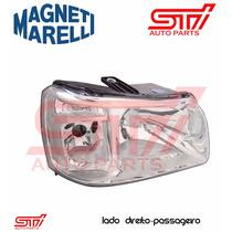 Farol Fiat Uno 2008 2009 2010 Original M. Marelli Passageiro