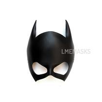 Máscara Batichica Antifaz Batgirl De Cuero Disfraz Fiestas