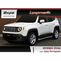 Lançamento!! Estribo Tubular Jeep Renegade Cromado Bepo