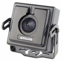 Mini Câmera Pinhole Stilus P/ Cftv C/ Áudio 1000 Linhas 1/4
