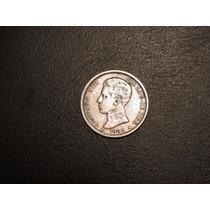 España 1 Peseta Año 1903 Moneda De Plata - Mundocoin