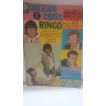 Revista México Canta 1970 Ringo John Lennon