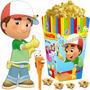 Kit Imprimible Manny A La Obra Many Candy Bar Y Cotillon 2x1