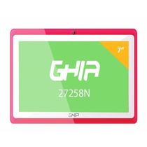 Tablet Ghia Any Quattro 7 Quad Core47458 Tenda Color Rosa