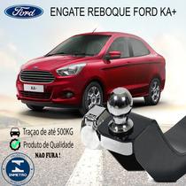 Engate Reboque Ford Ka+ Sedan Até 2016 Para 500kg Aprovado