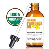 Orgánica Aceite De Onagra Por Renewalize En Large 4 Oz. Oscu