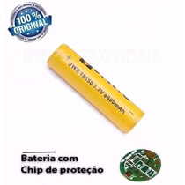 Bateria 18650 C/ Chip Original Jws Recarregável 8800mah 3.7v