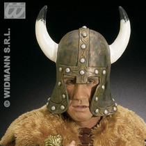 Casco D/goma Dorado D/guerrero P/adultos - Disfraz D/vikingo
