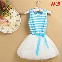 Vestido Niña Verano Tallas 2 3 4 5 6