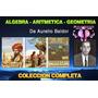 Trilogía De Baldor, Aritmética, Algebra Y Geometría Con Trig