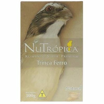 Ração Nutrópica Natural Para Pixarro Trinca-ferro 300 Gr