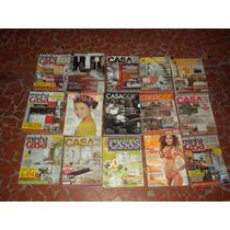 Lote 16 Revistas Casa Cor ,corpo, Casa Claudia, Minha Casa
