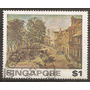 Singapur Faro Ex Colonia Inglesa 1v.usado Año 1976 Ca.u$s7.-