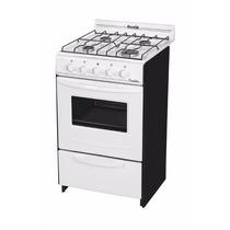 Cocina Escorial Candor Blanca Gas Envasado 51 Cms Parrilla
