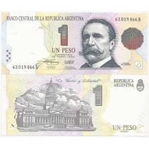 Billete De Argentina $ 1 Serie B B-3006 Unc