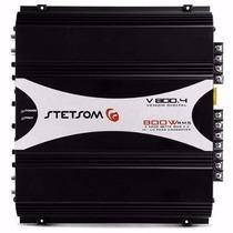 Amplificador Stetsom Módulo Venom V800.4 800w Rms 4 Canais