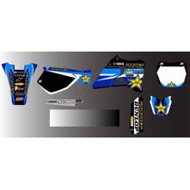 Kit De Calcos Gráficas , Para Yamaha Yz , 125 O 250..