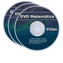 Dvd Curso De Matemática Matérial Estudos 2016/2017