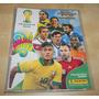 Fichário Panini Com 370 Card Adrenalyn Xl Copa Do Mundo 2014