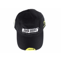 Boné John Deere Preto Original Western Wear Country