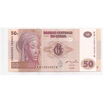 Congo Billete De 50 Francos Año 2007 !!
