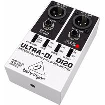 Di20 Direct Box Ativo Behringer Ultra Di-20 Di 20 Novo