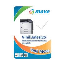 Vinil Adesivo Para Impressora A Laser / Led