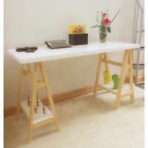 Escritorio/mesa Caballetes C/ Est. De Melamina - Majuldeco