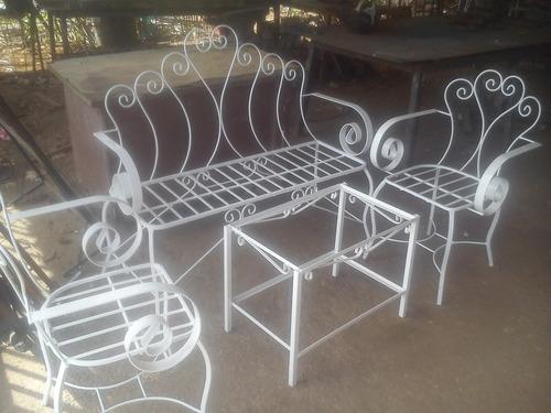 Bellos muebles para jard n y porche hierro forjado oferta - Muebles de porche ...