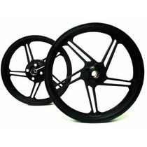 Jogo De Roda 5 Palitos Sport Mix Cg Titan 150cc